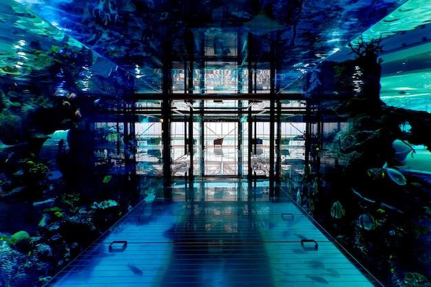 Hotel onderwateraquarium