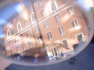 Hotel reflectie