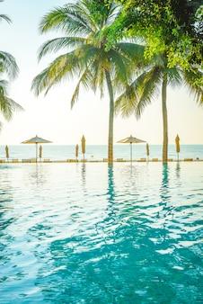 Hotel resort zwembad