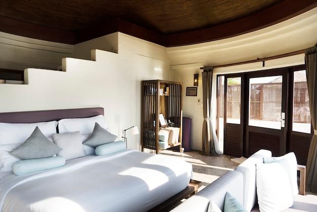 Hotelkamer in een luxe resort