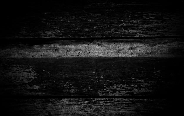Hout donkere achtergrond, houten patroon zwarte muur, abstracte plank voor design