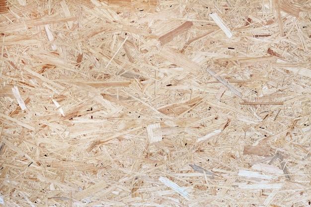 Hout textuur. osb houten bord voor achtergrond decoratie. osb-paneeltextuur