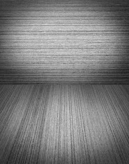 Houten achtergrond in zwart en wit