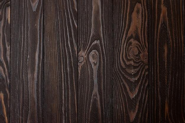 Houten achtergrond natuurlijke donkere houtstructuur