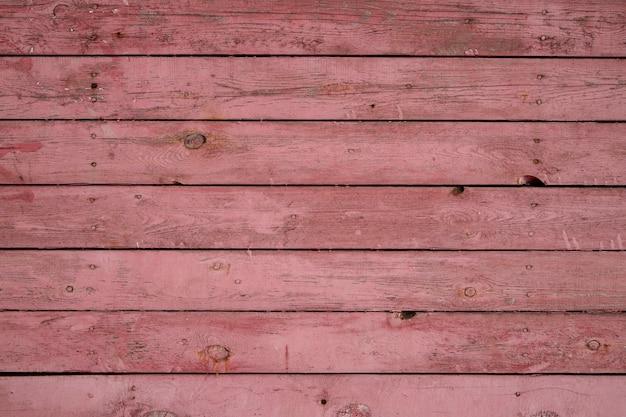 Houten achtergrond van horizontale planken bedekt met verf. houtstructuur, met kopie ruimte
