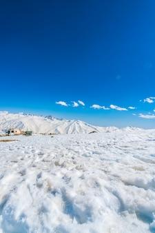 Houten berg uitzicht bergen koud