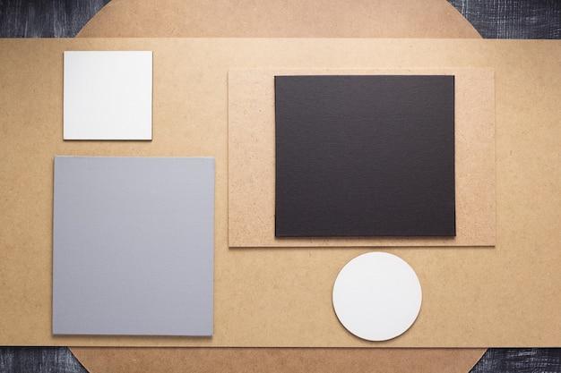 Houten en vezelplaat achtergrond board textuur oppervlak