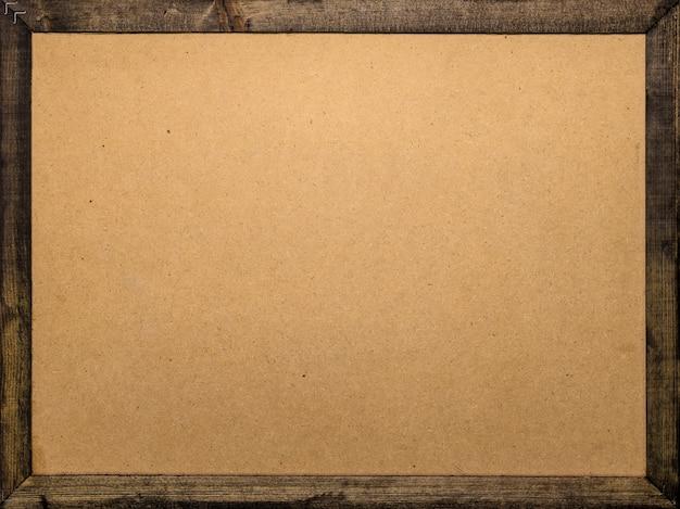 Houten frame achtergrond. sjabloon van houten bord voor uw ontwerp.