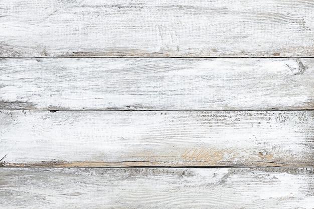 Houten getextureerde witte verweerde oude achtergrond
