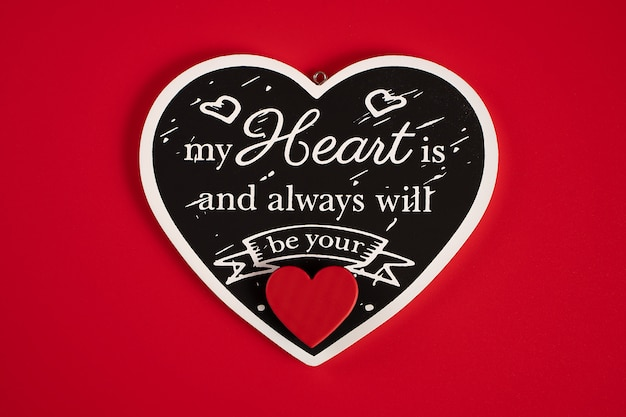 Houten hart
