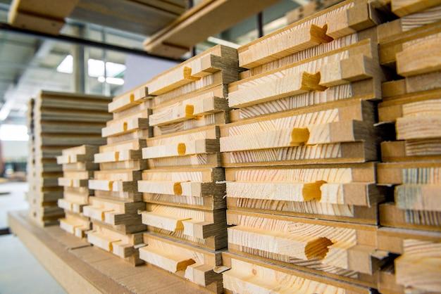 Houten houtconstructiemateriaal