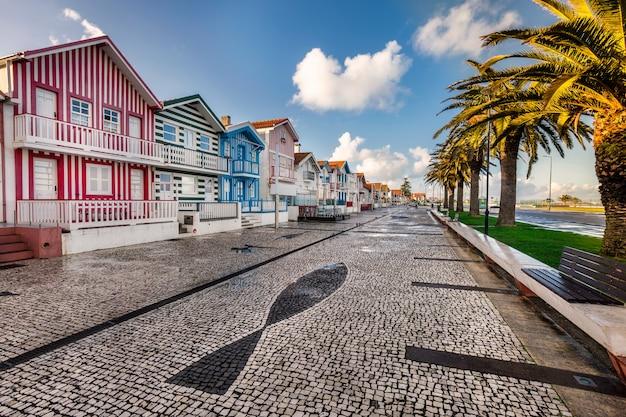 Houten huis portugal