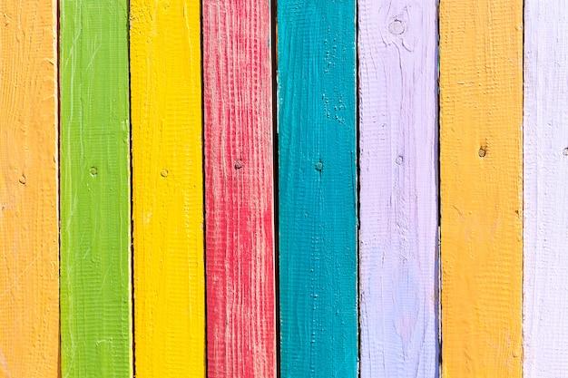 Houten kleurrijke textuurlijst