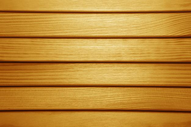Houten lamellen achtergrondstructuur. houten jaloezieën close-up