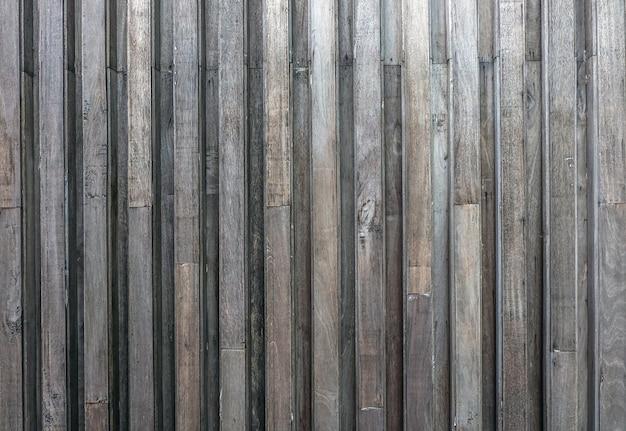 Houten latten, houten latten muur patroon oppervlaktetextuur.