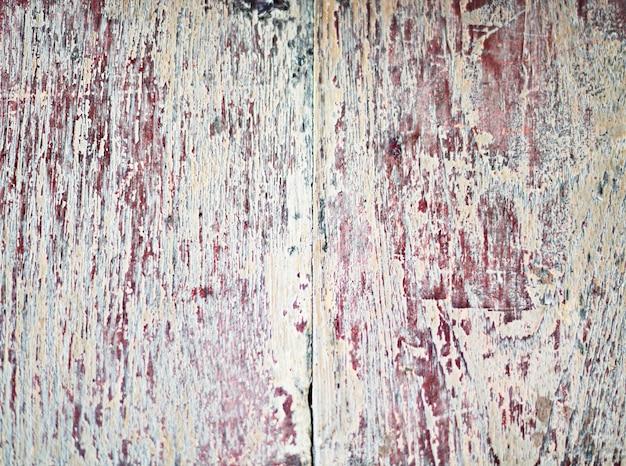 Houten muur gekrast materieel achtergrondtextuurconcept