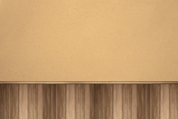 Houten muur met bruine achtergrond