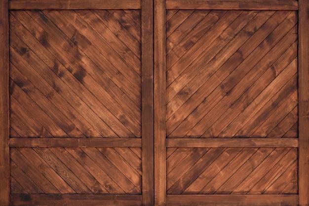 Houten muur textuur met, achtergrond of behang.