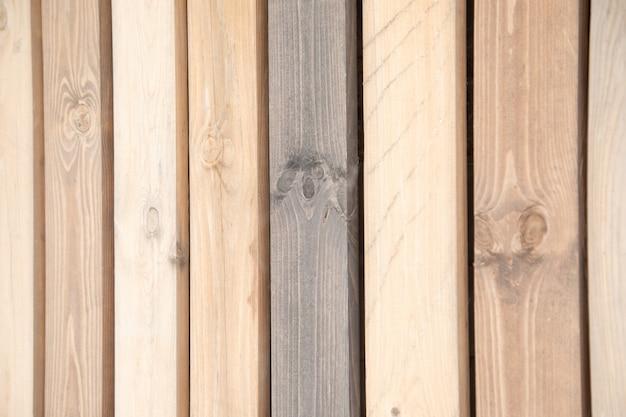Houten muurachtergrond of textuur. natuurlijke patroon houten achtergrond