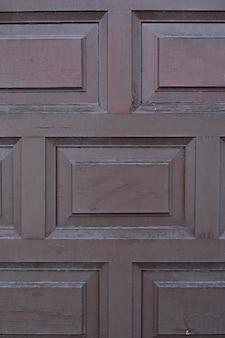 Houten oppervlak met geometrisch patroon
