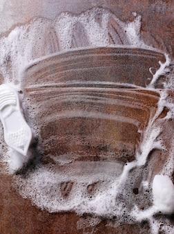 Houten oppervlak reinigen
