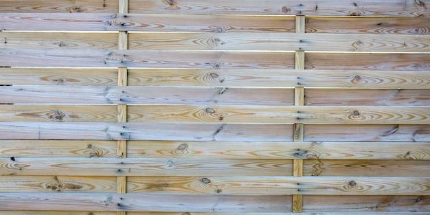 Houten panelen natuurlijke houten geweven muur voor horizontale plank als achtergrond