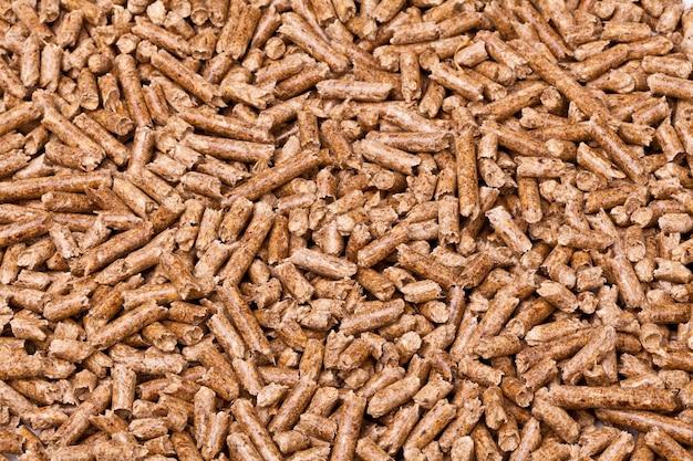 Houten pellet