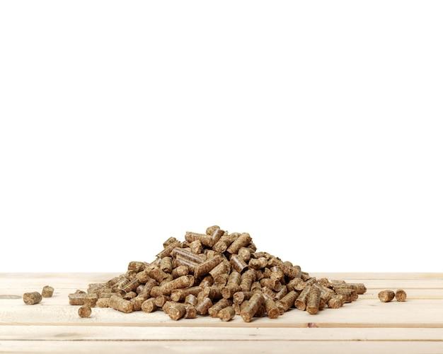 Houten pellets