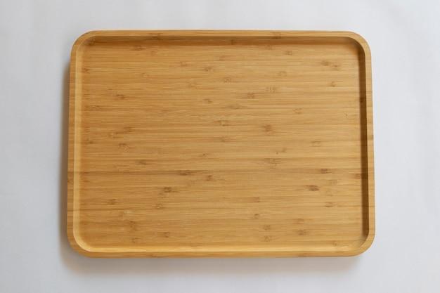 Houten plank gemaakt van bamboe