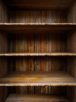 Houten plank leeg