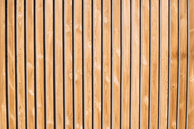 Houten plank muur, ideaal voor achtergronden en behang. natuurlijke patroon houten achtergrond