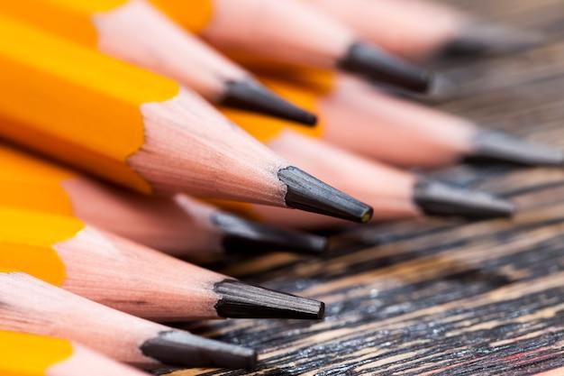 Houten potloden