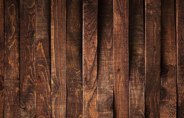 Houten, rustieke bruine plankentextuur, oude houten muur
