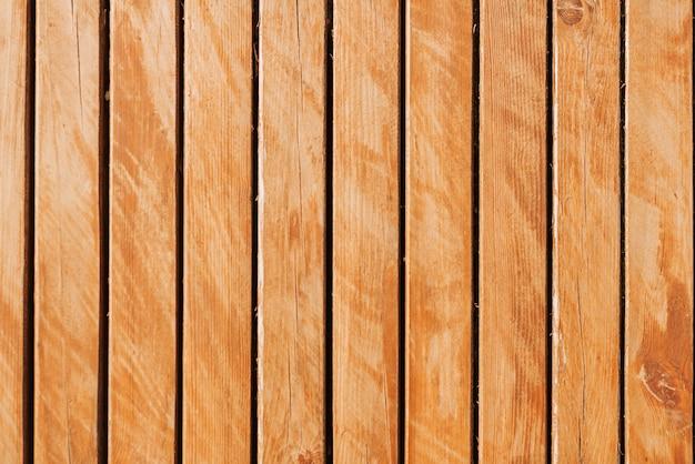Houten smalle planken oppervlak close-up