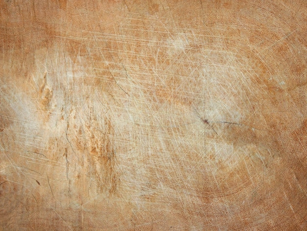 Houten snijplank met krassen textuur vintage achtergrond.