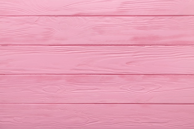 Houten structuur of achtergrond van pastel roze tafel