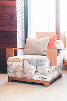 Houten tafel luxe lifestyle comfortabele