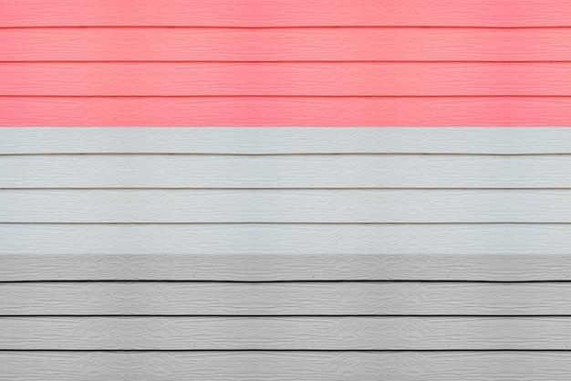 Houten tafels van verschillende kleuren
