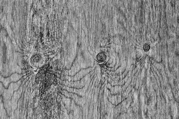 Houten textuur zeer oud zwart en wit