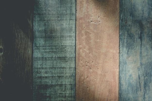 Houten vloeren worden gebruikt als abstracte ideeën