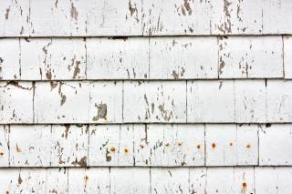 Houten vuurtoren panelen beeld
