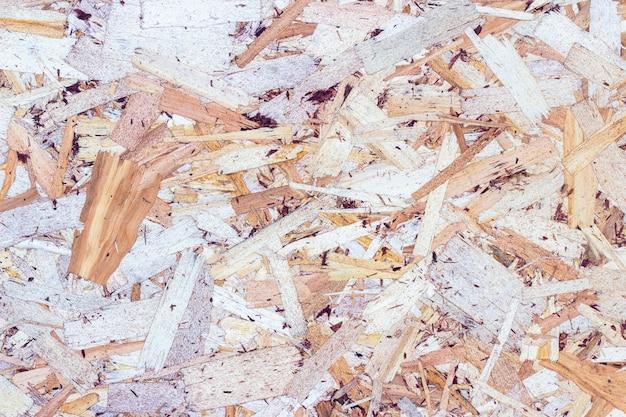 Houtstructuur achtergrond gemaakt van geperste houtsnippers