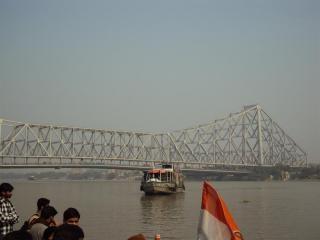Howrah bridge van ganga