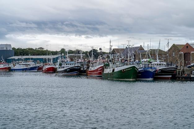 Howth vissershaven.