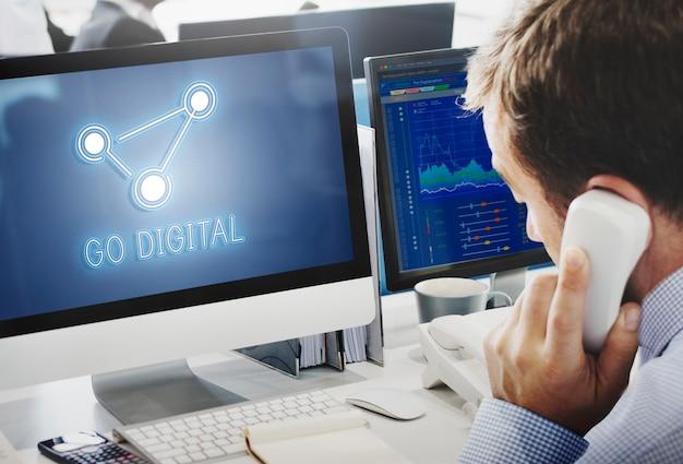 Http-startpagina internet online-concept