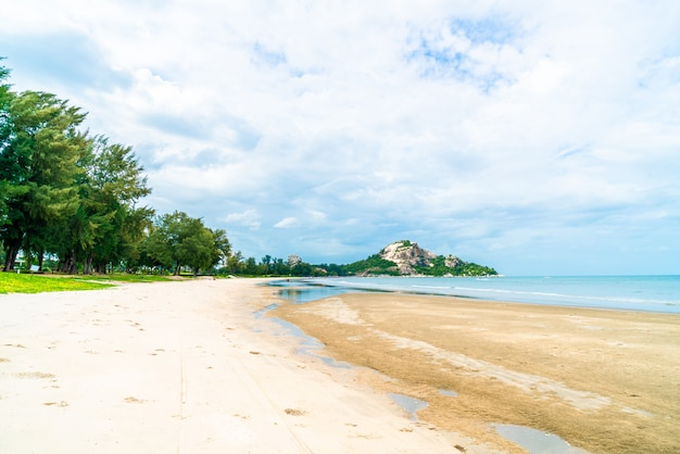 Hua hin-strand in thailand