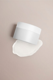 Huidverzorgingscontainerpot schoonheidsproductverpakking