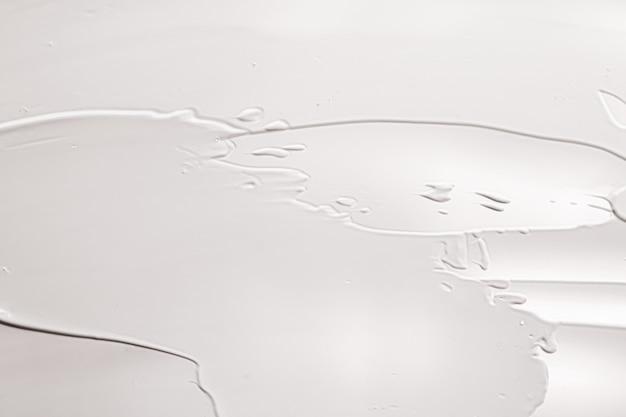 Huidverzorgingscosmetica en crèmeproducttextuur of antibacteriële vloeibare zeep voor handen wassen voor virus...