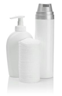 Huidverzorgingsreinigers op wit