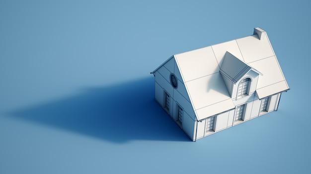 Huis architectonisch model